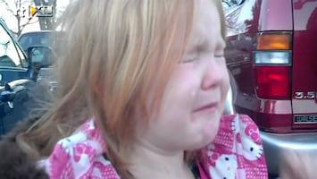 RTL Nieuws Meisje in tranen door verkiezingen VS