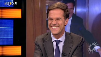 RTL Boulevard Mark Rutte aan de desk!