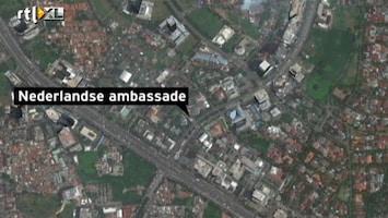 RTL Nieuws Zelfverbranding bij ambassade Jakarta