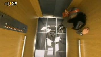 Editie NL Enge liftgrap: vloer verdwijnt
