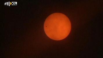 RTL Nieuws Uniek schouwspel: Venus schuift voor de zon
