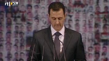 RTL Nieuws Syrische oppositie sabelt voorstel Assad neer