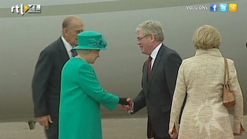 RTL Boulevard Omstreden bezoek Elizabeth aan Ierland