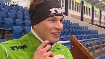 RTL Nieuws Schaatser Kramer maakt rentree