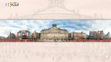 RTL Boulevard Tentoonstelling Panoramadoek Kroning Willem-Alexander