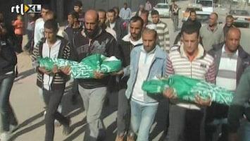 RTL Nieuws Zes kinderen omgekomen door raketten in Gaza