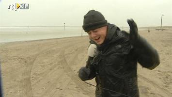 RTL Nieuws Storm veroorzaakt schade maar ook plezier