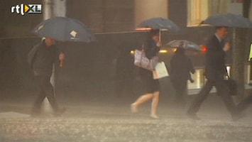 RTL Nieuws Storm en regen teisteren Melbourne