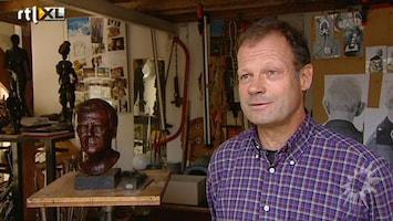 RTL Boulevard Beeldhouwer Jan-Willem Oldeneel over zijn koninklijke kunstwerken