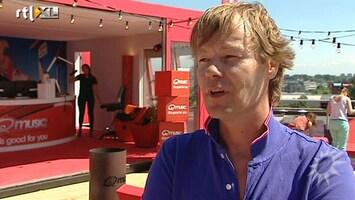 RTL Boulevard Laatste uitzending Gijs Staverman bij Q-music