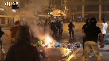 RTL Nieuws Chaos in Athene door rellen
