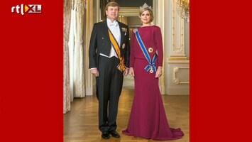 Editie NL Staatsiefoto koningspaar vrijgegeven
