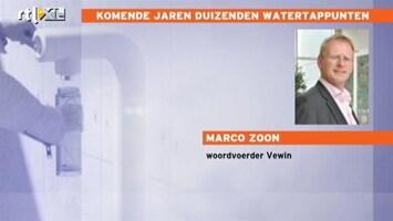 RTL Nieuws Komende jaren duizenden nieuwe watertappunten