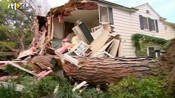 RTL Nieuws Veel schade door storm Los Angeles