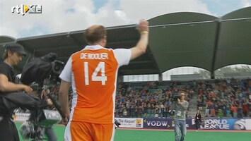 RTL Nieuws Teun de Nooijer voor het laatst op het hockeyveld