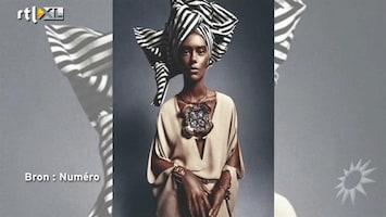 RTL Boulevard Blank model als African Queen