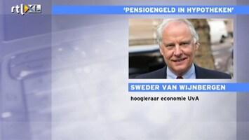RTL Nieuws Hoogleraar verwacht geen wonderen hypotheekplan