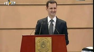 RTL Nieuws President Syrie onverzoenlijk