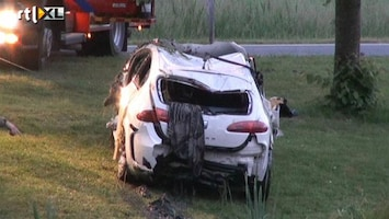 RTL Nieuws Auto te water na achtervolging, één dode