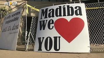 RTL Nieuws Dochter Mandela: 'Papa opende zijn ogen'