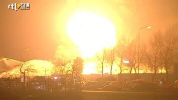 RTL Nieuws Arrestaties rond brand Moerdijk