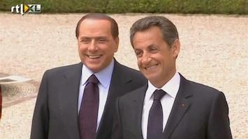 RTL Nieuws Berlusconi en Sarkozy willen slot op Europa