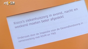 RTL Nieuws Acute patiënt slechter af in avond en nacht