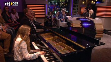 RTL Late Night Birdy knalt erin