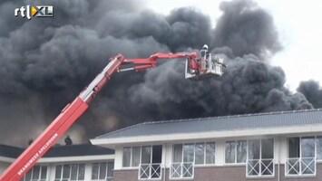 RTL Nieuws Beelden brand Bussloo