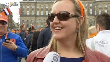 """RTL Nieuws Oranjefans op Dam: 'Ik was geëmotioneerd"""""""