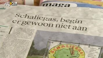 RTL Nieuws Hoogleraren: Boren naar schaliegas? Niet doen