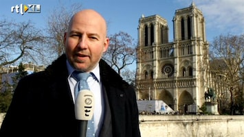 RTL Nieuws Enorme Nederlandse klok in Notre Dame