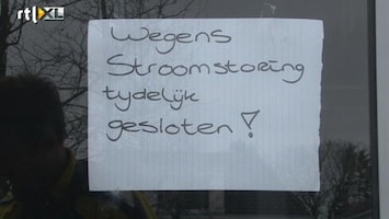 RTL Nieuws Urenlang geen stroom in Hoogezand-Sappemeer