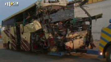 RTL Nieuws Nederlandse kinderen in rampbus