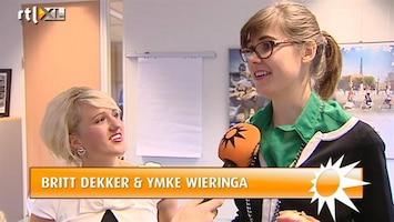 RTL Boulevard Britt en Ymke tekenen bij RTL 5