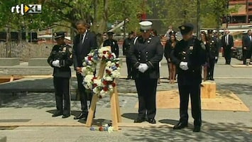 RTL Nieuws Herdenking op Ground Zero