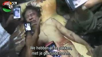 RTL Nieuws Lichaam Khadaffi als attractie