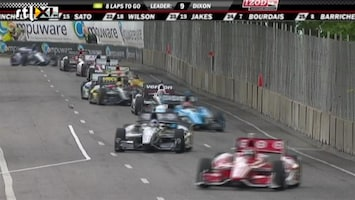 RTL GP: Formule 1 Restant IndyCar-race Belle Isle in Detroit
