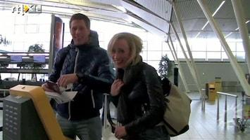 RTL Boulevard Freek Vonk en Eva Jinek op liefdesvakantie
