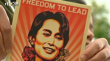 RTL Nieuws Aung San Suu Kyi als held onthaald in Oslo