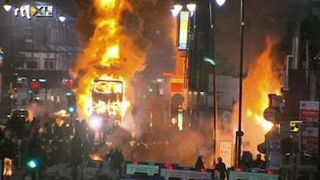 RTL Nieuws Britse rellen: spanningen tussen politie en politiek