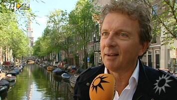 RTL Boulevard Robert Ten Brink doopt Amsterdamse slotjesbrug om tot liefdesnest
