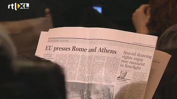 RTL Nieuws Griekenland, Italië willen euroland blijven
