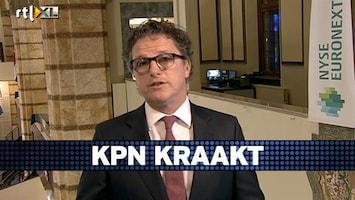 RTL Z Voorbeurs Versteeg: Koers KPN komt nog flink onder druk