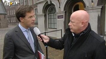 RTL Nieuws Rutte wil nog niets kwijt over eindstadium formatie