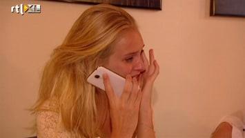 Holland's Next Top Model 'Je moet wel bij me blijven' bellen met je vriendje...