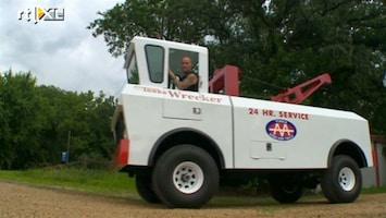 RTL Nieuws Fan bouwt 'life-size' Tonka-truck