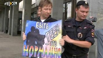 RTL Nieuws Russische homo's: Boycot Winterspelen werkt averechts