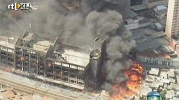 RTL Nieuws Megabrand in sloppenwijk São Paulo