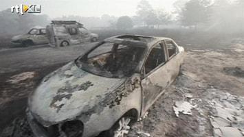RTL Nieuws Duizenden geëvacueerd om bosbranden Texas